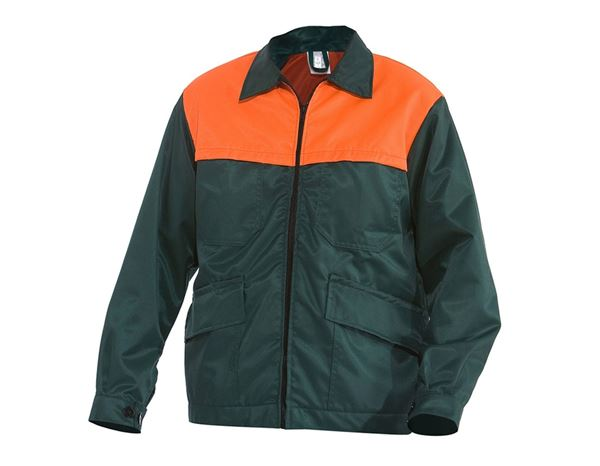 Work Jackets: Foresters Jacket + green/orange