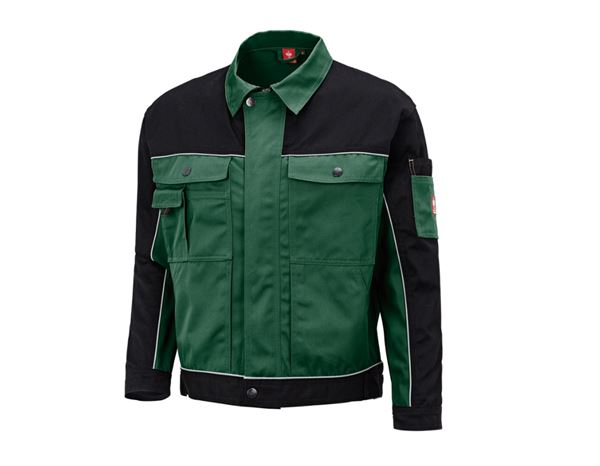 Work Jackets: Work jacket e.s.image + green/black