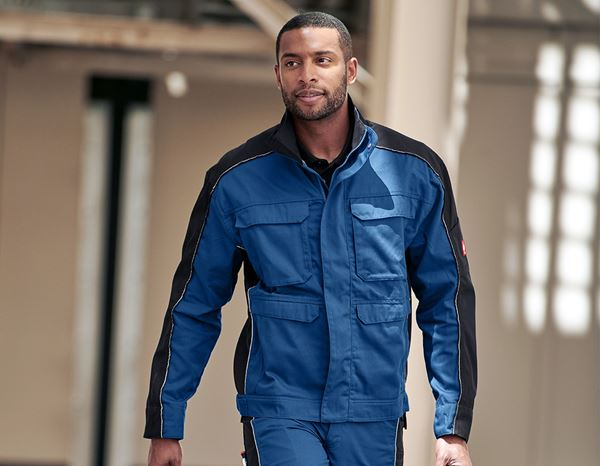 Work Jackets: Work jacket e.s.active + royal/navy