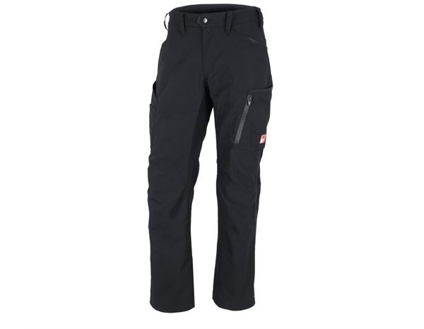 Work Trousers: Winter trousers e.s.vision + black