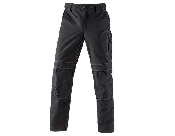 Work Trousers: Winter functional trousers e.s.dynashield + black