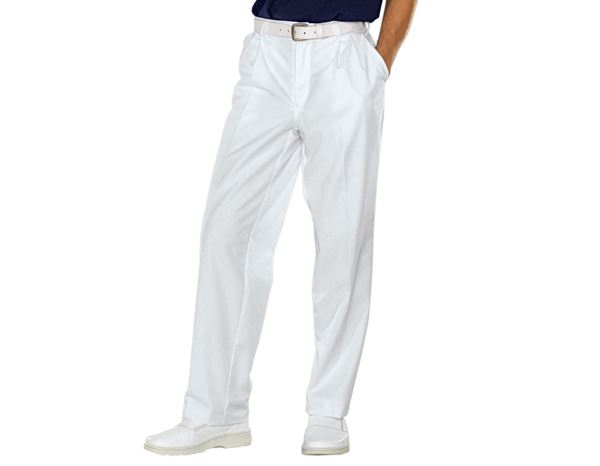 Medical / Healthcare Trousers: Trousers Kris + white