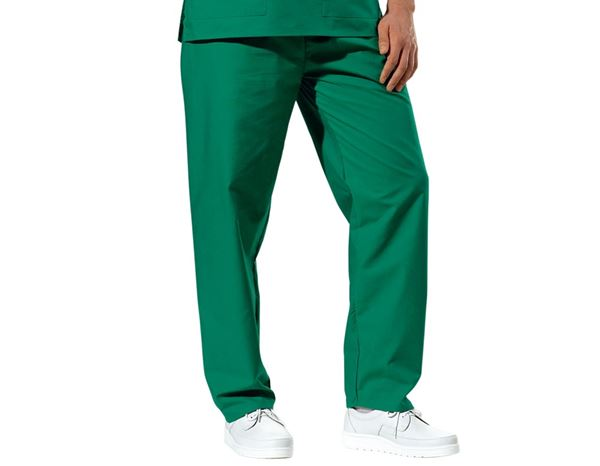 Medical / Healthcare Trousers: OP-Trousers + green