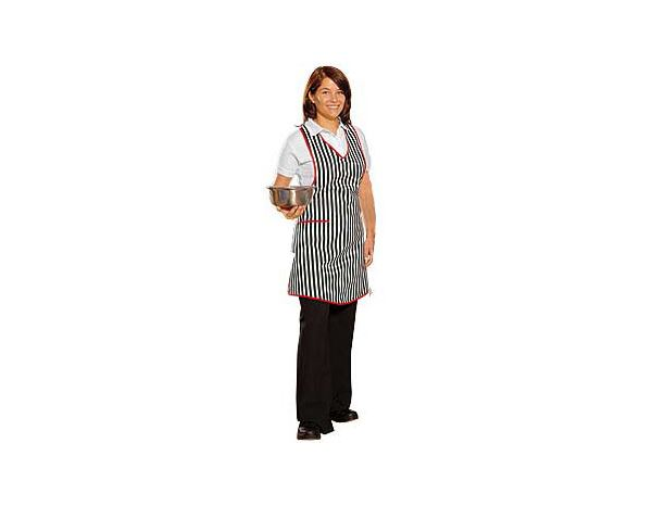 Shirts, Pullover & more: Apron Bärbel + black/white/red