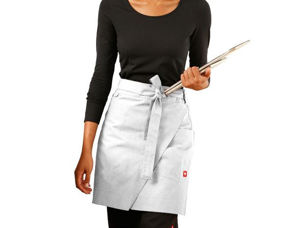 Shirts, Pullover & more: Mid-Length Apron e.s.fusion, ladies' + white