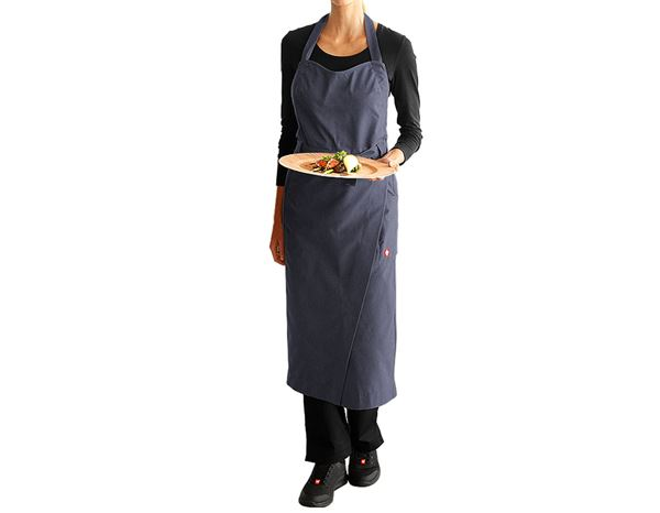 Shirts, Pullover & more: Bib Apron e.s.fusion, ladies' + pacific melange