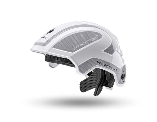 Hard Hats: e.s. Work helmet Protos® + white/platinum