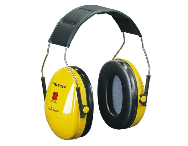 Ear Defenders: 3M Peltor Protector Cups Optime I