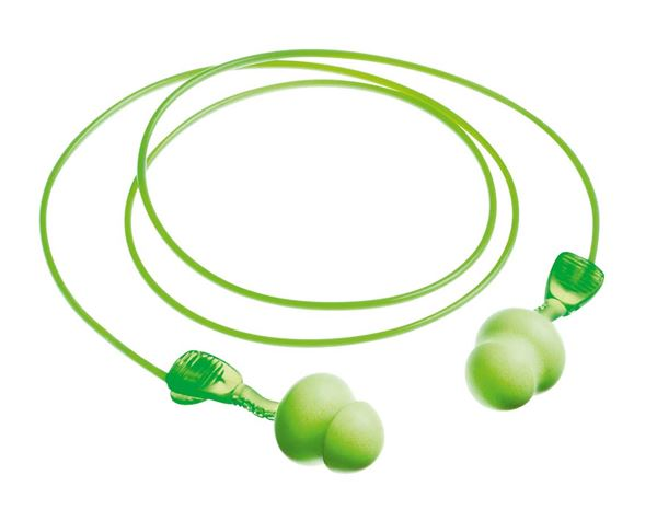 Ear Plugs: Ear plugs Twisters + green