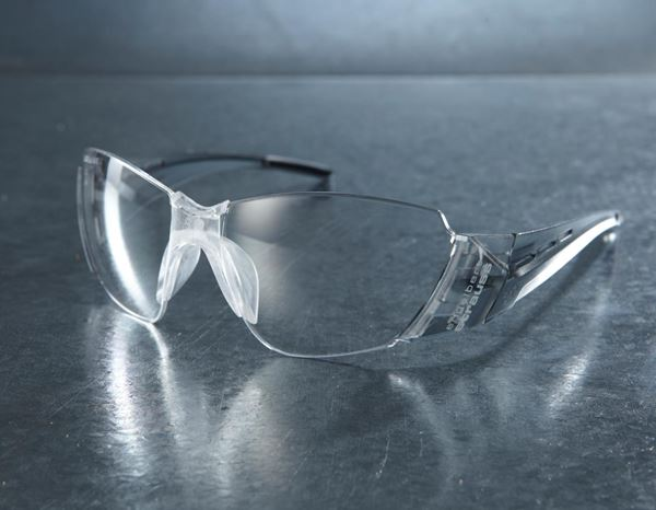 Eye Protectors: e.s. Safety glasses Sagra + clear