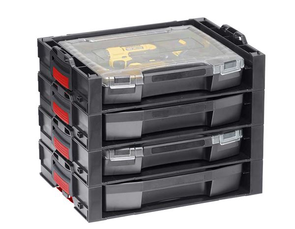 Tool Cases: e.s. i-Rack active + black/red 4
