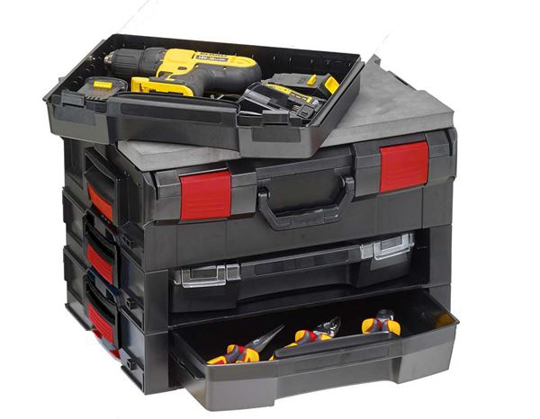 Tool Cases: e.s. i-Rack active + black/red 5