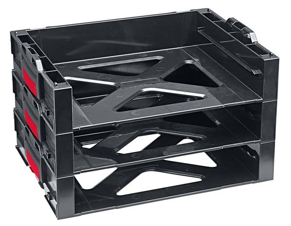 System boxes: e.s. i-Rack active + black/red