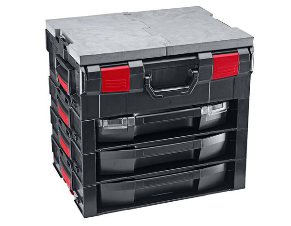 System boxes: e.s. i-Rack active + black/red 7