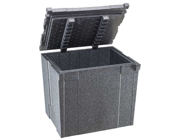 Tool Cases: e.s. Thermo insert 374 + anthracite