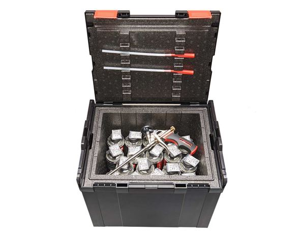Tool Cases: e.s. Thermo insert 374 + anthracite 4