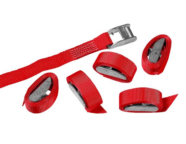 Tension straps: Single-Part Lashing Straps/Clamp Lock