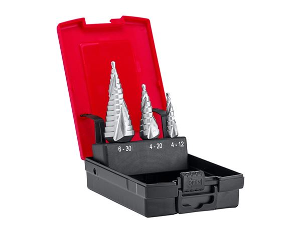 Drill Bits: e.s. Step drill set HSS-G ultimate