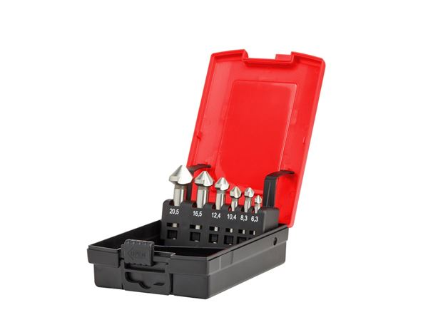 Drill Bits: e.s. Counter sink set HSS classic 1