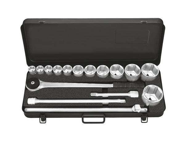 Industrial socket wrench case 3/4 inch prof.