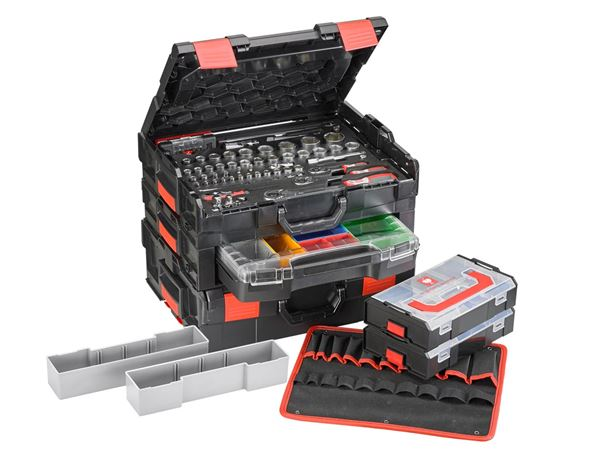 Tool Cases: e.s. Boxx socket wrench set pro II
