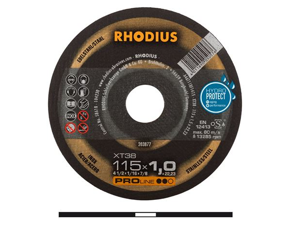 Cutting- / Sanding Discs: High Performance Steel Cutting Disc, Type 41