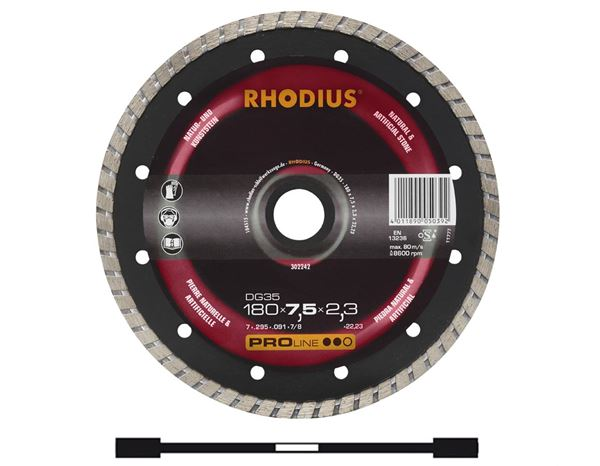 Cutting- / Sanding Discs: High Performance Stone Cutting Disc, Type 1A1RSS