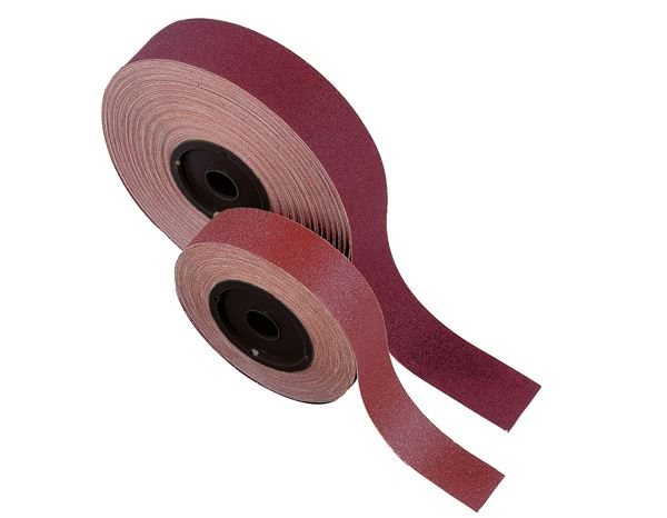Cutting- / Sanding Discs: Sanding fabric premium role metall