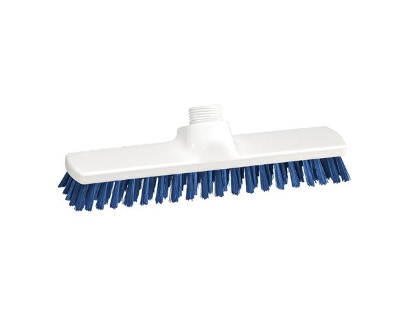 Brooms / Brushes / Scrubbing  Brushes: Wiping Scrubber + blue