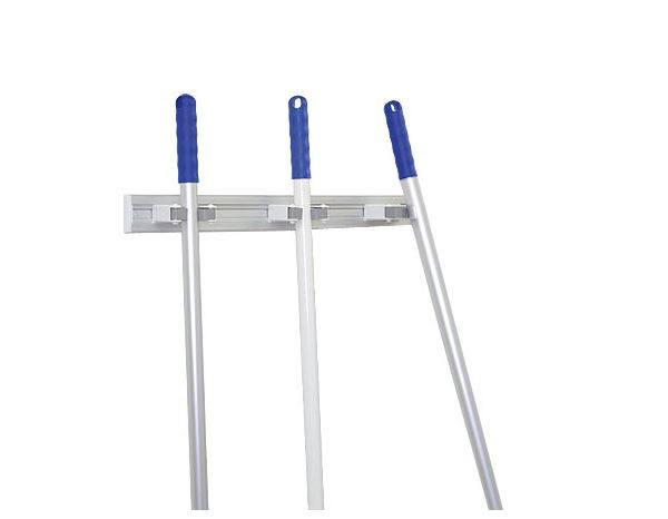 Brooms / Brushes / Scrubbing  Brushes: Aluminium Equipment Rack