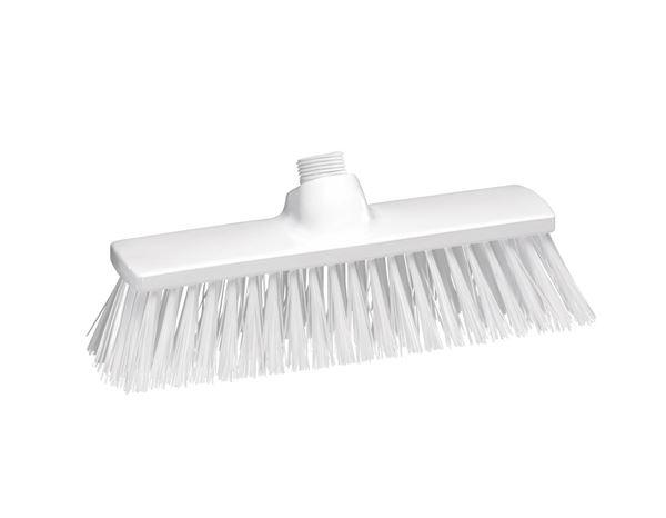 Brooms | Brushes | Scrubbers: Hygiene Broom polyester 300x70 mm + white