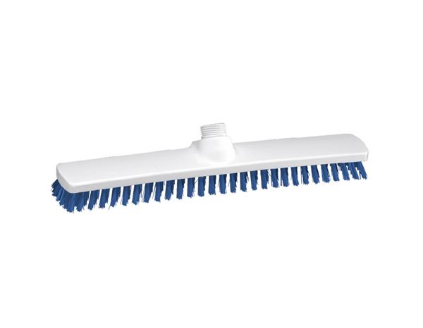 Brooms / Brushes / Scrubbing  Brushes: Broad surface scrubber, Low + blue