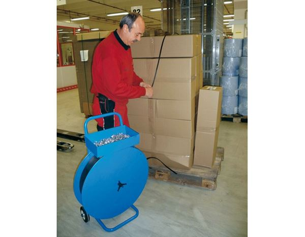 Packaging Materials: Dispenser trolley 1
