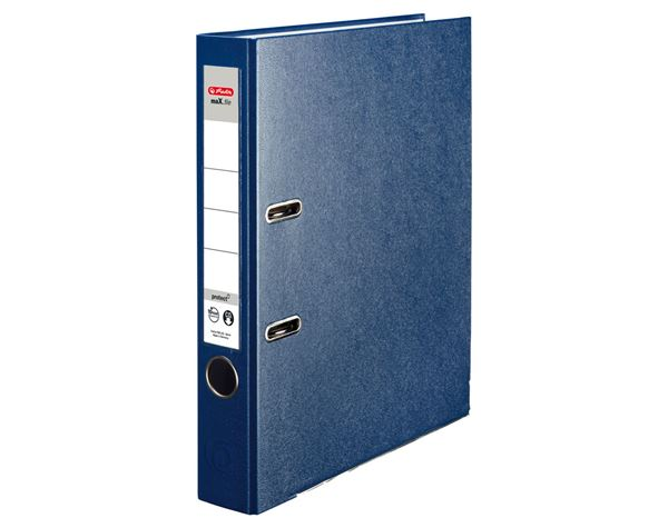 Lever Arch Files: Herlitz file maX.file protect + blue