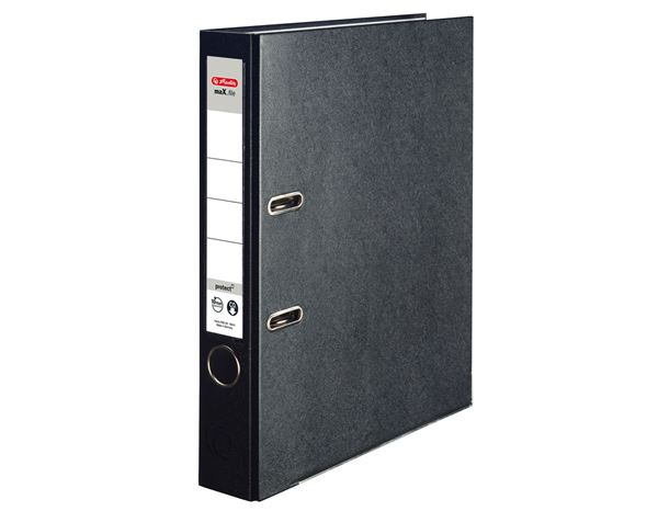 Lever Arch Files: Herlitz file maX.file protect + black