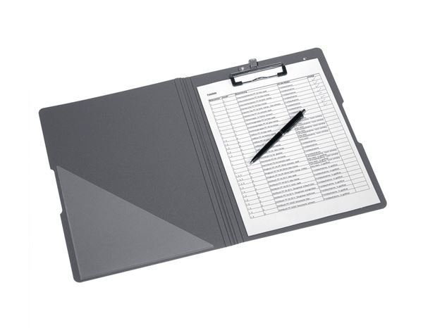 Organisation: Herlitz Clipboard folder + navy/grey 2