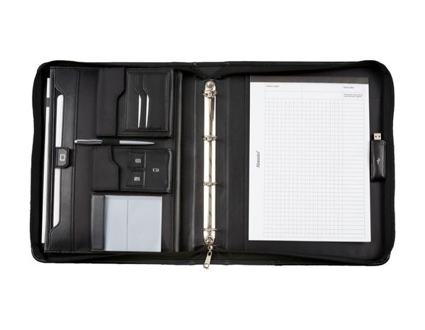 Organiser Books: Ring binder A4, lockable 1
