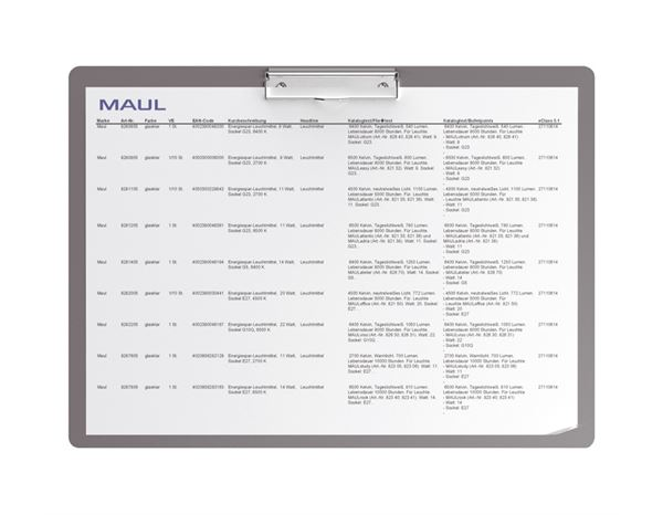 Organisational Supplies: Maul writing surface, aluminium 1