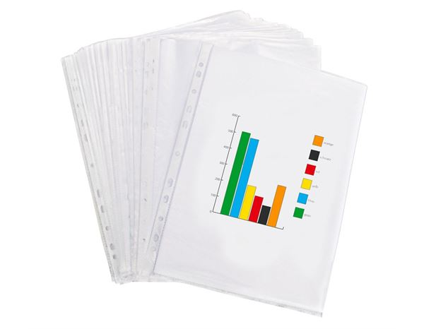 Clear Pockets: Brochure sleeves