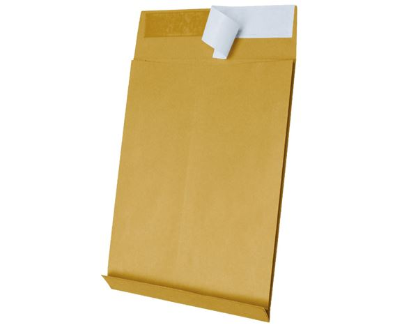 Envelopes / Wallet: Heavyweight Expanding Manilla Envelopes C4/B4