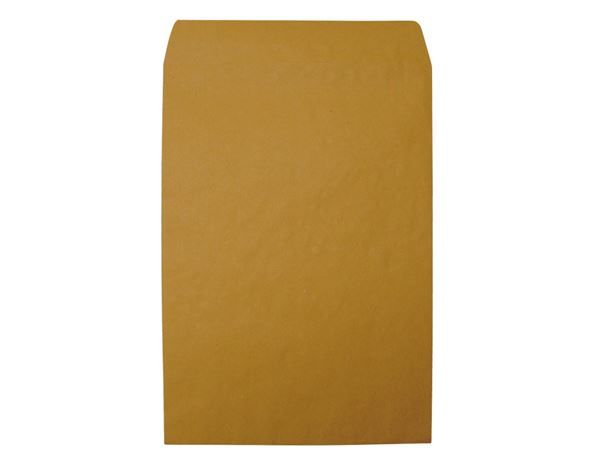 Envelopes / Wallet: Heavyweight Envelopes, C4/B4 + brown