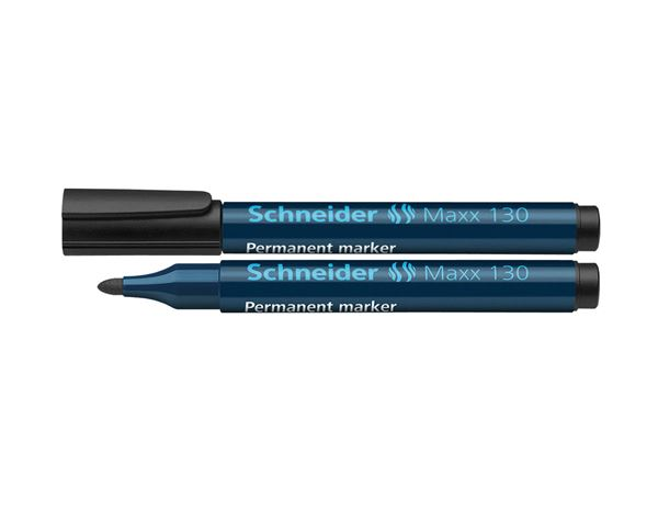 Pencils / Pens / Markers: Schneider Permanent Marker 130, Pack of 10 + black