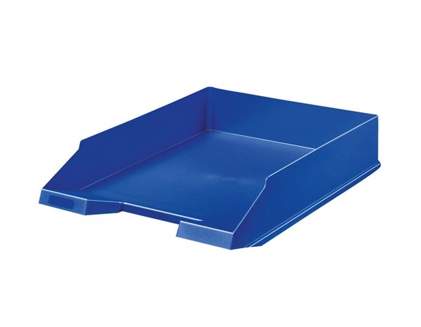 Letter Trays / Magazine Files: Letter Trays + blue