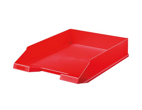 Letter Trays / Magazine Files: Letter Trays + red