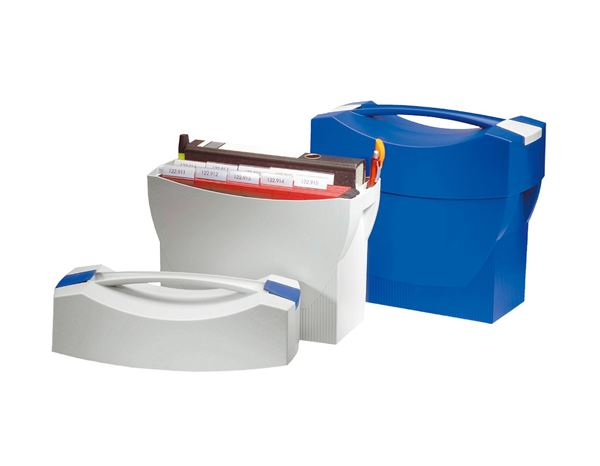 Filing systems: HAN Swing File Carrier with lid + blue 1