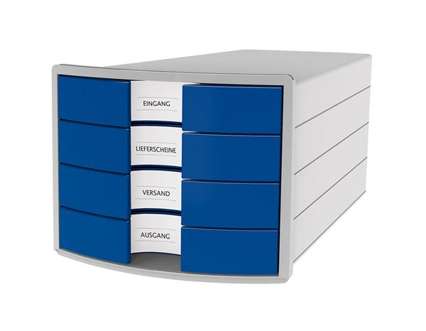 Filing systems: HAN File Drawer Box + blue