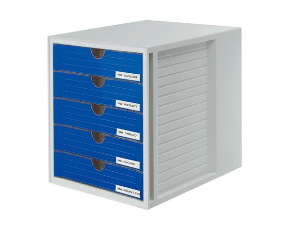 Letter Trays / Magazine Files: HAN File System Box + blue