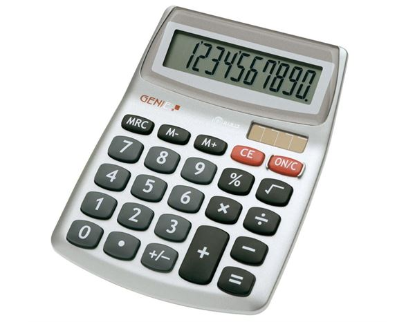 Calculators: Genie 540, 10 DIGIT DESK