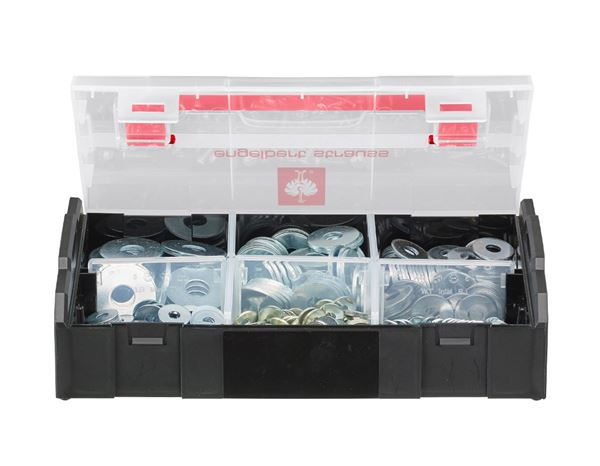 Washers: Washers, DIN 9021, 475 pieces