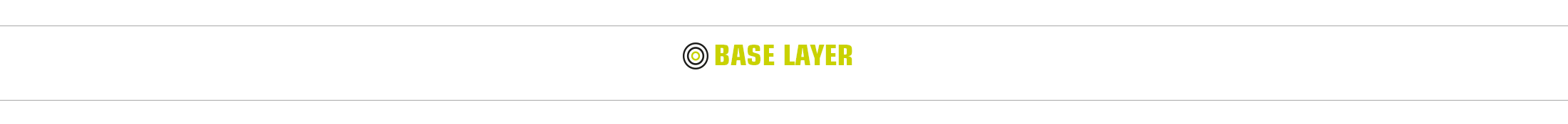 Base layer - moisture removal
